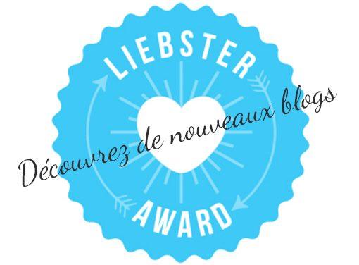 Je suis 1 As nominé au Liebster Award