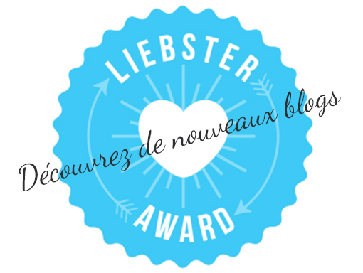 Je suis 1 As Liebster Award