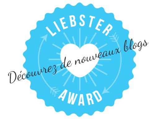 Je suis 1 As Liebster Award