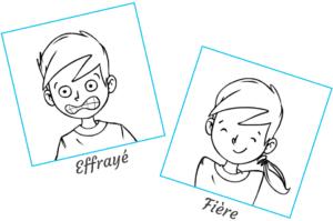 Pictogrammes émotions et expressions