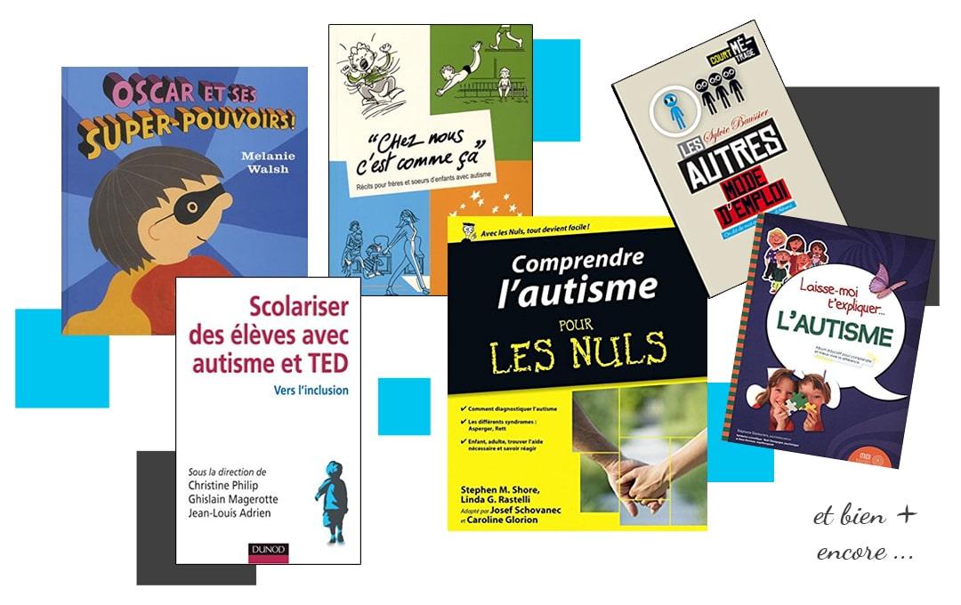 Livres pour sensibiliser à l'autisme