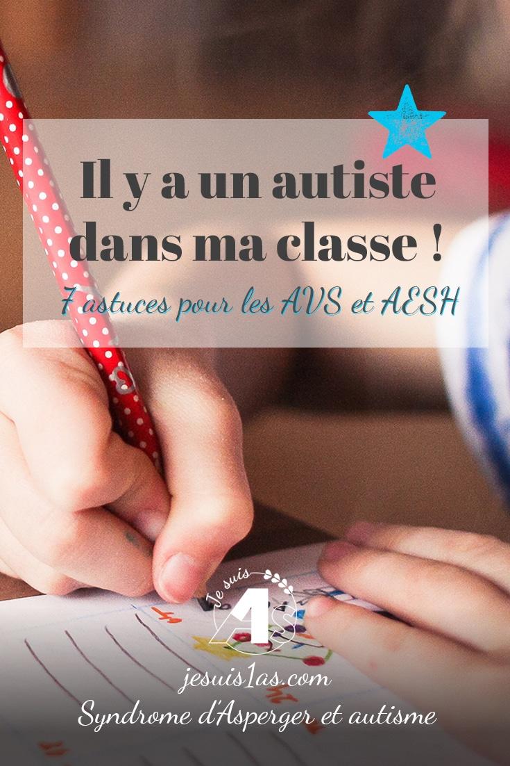 Vous accompagnez un enfant autiste en classe en temps qu'AVS ou AESH et vous recherchez des solutions et des outils ? Cliquez ici !