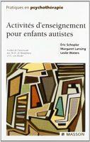 Actvités d'enseignement pour enfants autistes